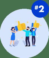 illustrations-facts Customer Effort Customer Satisfaction
