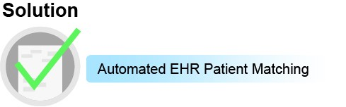 Solution1: Automated EHR Patient Matching