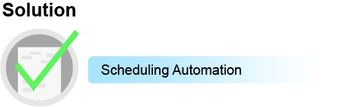Solution2: Scheduling Automation